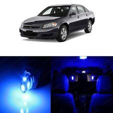 13 X Blue Led Interior Light Kit For 2006 2013 Chevrolet Chevy Impala Tool