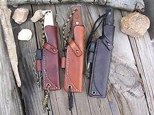 "LF Custom Leather Bushcraft Sheath (4""-6"" Blade) Any Make of Knife"