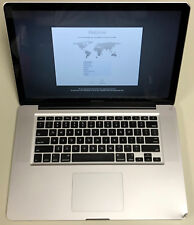 "Apple MacBook Pro 15"" Glossy A1286 2.3GHz Core i7 8GB RAM 1TB HDD 10.13 Mid 2012"