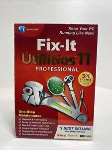 Fix It Utilities 11 Professional PC Software.           B2