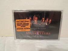 The Three Musketeers [NEW and SEALED Cassette) Bryan Adams, Sting, Michael Kaman