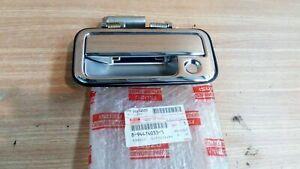 Exterior Door Handle Rear Left fits Isuzu Pickup TF Chevrolet LUV 8944740333