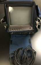 "JVC TM-A9u 9"" Color Video Monitor includes Porta-Brace MO-910SU Field Monitor"