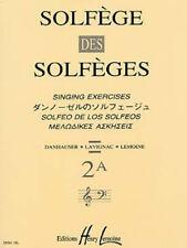 SOLFEGE des solfèges - Vol. 2A   2 clés s/a. Solfège/Formation musicale