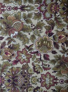 3 Yards Cotton Quilting Fabric -Killean by RJR -Shades of Brown Vintage Florals