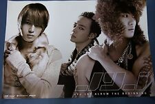 JYJ - The Beginning 1st Album  OFFICIAL POSTER HARD TUBE CASE