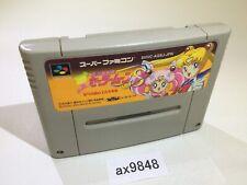 ax9848 Sailor Moon S Shuyaku Soudatsusen SNES Super Famicom Japan
