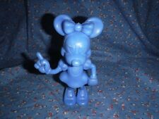 Cute Blue Marx Minnie Mouse Figure 6 Inch High