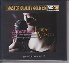 """""""Audiophile Female Voices"""" Master Quality Gold CD MQGCD MQG CD Numbered New"""