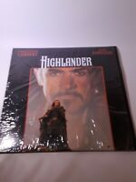 Highlander Laserdisc LD Sean Connery