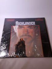 Highlander Laserdisc LD Sean Connery