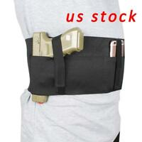Concealed Carry Belly Band Holster with Mag Pouch Fits Glock,Sig Sauer, Ruger