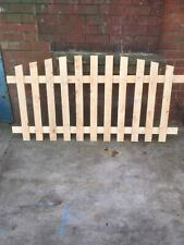 More details for picket fence .arched
