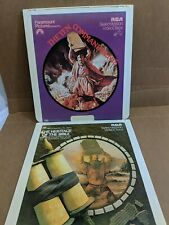 RCA CED Video Disc / 2-Disc- Ten Commandments, Heritage of the Bible