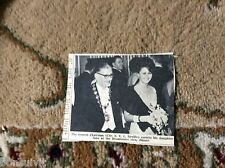 k1-5 ephemera 1966 picture broadstairs cllr e v l neville with jane