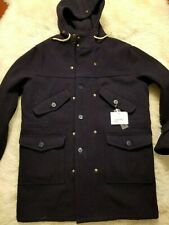 NWT EQUIPE 70 WOOL  JACKET ARMY INSPIRED NAVY GORGEOUS L 40 42