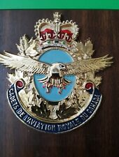 Cadets De L'Aviation Royal Du Canada Plastic Insignia Plaque