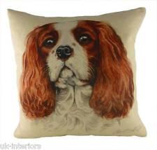 "17"" King Charles Spaniel Dog Cushion Evans Lichfield DP933 43cm Waggydogz"