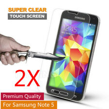 2X Premium Tempered Glass Film 9H Screen Protector for Samsung Galaxy Note 5