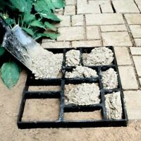Walk Maker Driveway Paving Pavement Mold Patio Concrete Stepping Stone Path 40cm