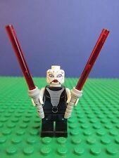 genuine LEGO STAR WARS ASAJJ VENTRESS minifigure LIGHTSABER FIGURE 7957 set 346