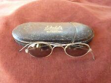 lunettes de soleil avec étui,debut du 20ème siècle,bon etat