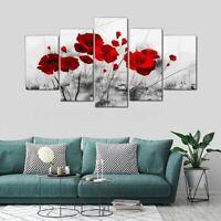 5Pcs/Set Modern Canvas Print Painting Poster Art Picture Wall Decor Unframed