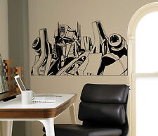 Transformers Wall Vinyl Decal Optimus Prime Vinyl Stickers Home Art Interior 7