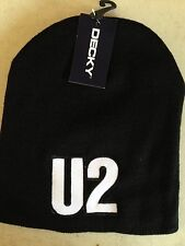 U2 LICENSED BEANIE SKULL CAP  ROCK NEW! t-shirt BONO