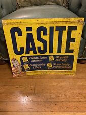 Casite Gas Oil Advertising Sign
