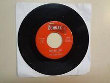 "BARRACUDAS:Baby Get Lost 1:43-Honest I Do 2:30-U.S.7"" 65 Zundak Music Ent.45-101"
