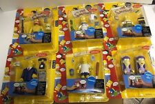 2002 PLAYMATES THE SIMPSONS SERIES 8 COMPLETE 6 FIGURE SET DAREDEVIL BART F20