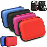 2.5 Inch External USB Hard Drive Disk Carry Case Pouch Bag for SSD HDD