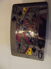 New Belt Buckle Queen of Spades on the larger size