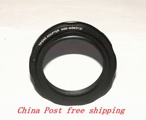 High-quality M58 Lens to M58 Adjustable Focusing Helicoid adapter 12~17mm