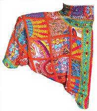 INDIAN BAGGY GYPSY HAREM PANTS YOGA MEN WOMEN BOHEMIAN ALIBABA TROUSERS 53