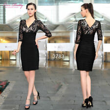 Lace Regular Size Dresses for Women with Ruched