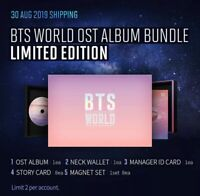 IN-STOCK!! ✨BTS WORLD OST LIMITED EDITION FULL PACKAGE SEALED ORIGINALLY +POSTER