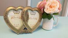 Shabby Chic Gold Ornate Photo Frame Vintage Accessory Wedding Home Gift
