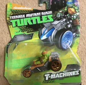Teenage Mutant Ninja Turtles T-Machines Mikey in patrol buggy Diecast TMNT Cars