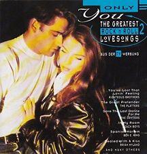 Only You 2-Greatest Rock'n'Roll Love Songs (16 tracks) Platters, Beach Bo.. [CD]
