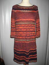 Diane von Furstenberg Ponca knit sweater dress, Medium