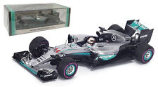 Spark S5001 Mercedes F1 W07 Winner Monaco GP 2016 - Lewis Hamilton 1/43 Scale
