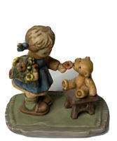 "Berta Hummel Figurines 1998 Goebel ""With Love "" BH66"