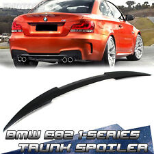 1-SERIES PAINTED 2D Coupe BMW E82 M4 Type Rear Trunk Spoiler Wing 2013 135i
