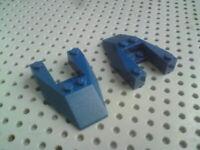 Lego Slope Wedge 6x4 with 2x2 gap [6153] Dark Blue x2