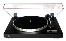 Dual CS 460 Vollautomatischer Plattenspieler (Strukturlack Schwarz) incl. OMB10