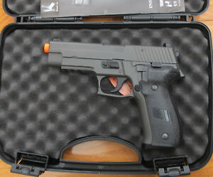 HFC Full Metal Gas Blowback SIG Sauer P226 Style Airsoft Pistol Shoot 320 FPS
