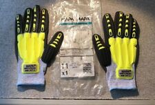 Glove Mapa Exonit 547 Knit Impact Glove Nitrile Grip & Proof Palm Coating 1 Pair
