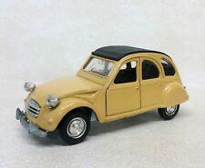 Vintage Polistil Diecast Citroen 2cv 1:25 Scale Made in Italy